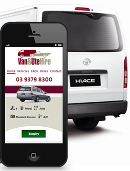 Van and Ute Hire